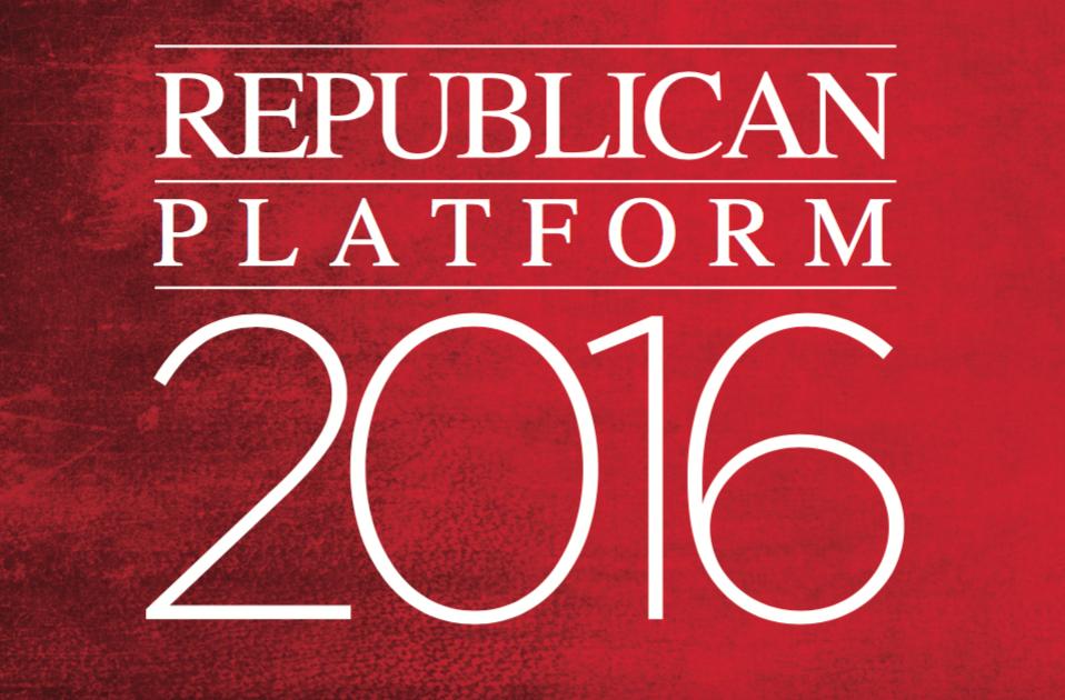 2016 Republican Platform